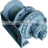 Hydraulic Garbage Winch Compact with Worm Gear Hydraulic Truck Winch