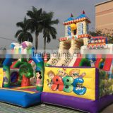 Hot sale inflatable entertainment park inflatable castle combo fun city inflatables for games