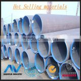 S355JR Galvanized Coated Hot rolled round tube .seamless round steel tube from shanghai Shunyun