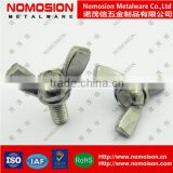 Stainless steel butterfly thumb wing screw