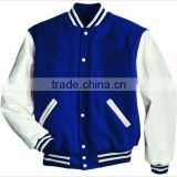 Winter Embroidered Cotton Wool Varsity Jacket for Men/wool jacket/Varsity Jacket, Letterman Jacket, Baseball Jacket