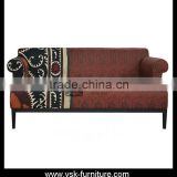 SF-068 Arabic Deisgn Hotel Furniture Modern Style Fabric Sofa
