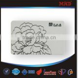 MDC496 Spot UV surface nfc business card transparent