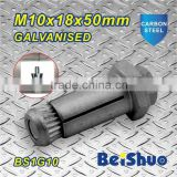 Steel construction fastener sleeve anchors bolts allibaba com