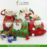 Christmas Santa Snowman Candy Gift Bag Sweet Sack Stocks Filler Party