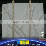 GIGA chinese best quality calacatta white marble tile                                                                         Quality Choice