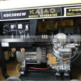 DC 300A double cylinder 3KW diesel welder generator power set (KDE300EW)