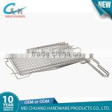 Out door BBQ grill wire mesh for fish