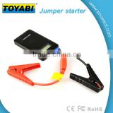 400A Peak Current Car Jump Starter Battery Charger with 6000mAh Power Bank with 2.4A USB Charging Port
