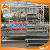 factory outlets fabric bleacher mobile grandstand