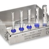 New Titanium nitride blue colored Trephine drills burs/Dental Implants//Best Dental Tools