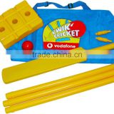 Promotional Branded Mini Cricket Plastic set