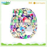 ananbaby resauble baby diapers washable anime cloth diapers                                                                                                         Supplier's Choice