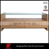 Wholesale home furniture modern tv stand with glass