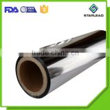 Food Wrapper Oxygen water barrier aluminium coating CPP Metalized Film Roll