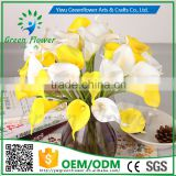 2016 Mini Calla Lily Real Touch Artificial Flowers wholesale for Home Wedding Party Decoration Decorative Flowers