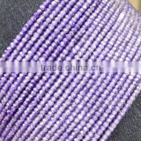 5 Strands Amethyst Cubic Zirconia 3mm Rondelle Faceted CZ Beads Strand,Purple Amethyst CZ Beads,Purple CZ Beads,Jewelry