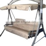 GW-056 3 seater outdoor canopy hammock swings