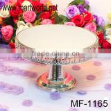 Elegant lamp shaped wedding cake stand,wedding cake stand with mirror face used for wedding/party/home/hotel decoration(MF-1165)