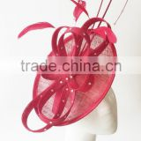 Red fascinator hats/Derby fascinator/Racing fascinator/Kentucky fascinator/fascinator wholesale
