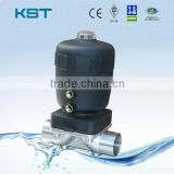 Pneumatic Welded Diaphragm Valve, Welding Diaphragm Valve, Stainless Steel Diaphragm Valve