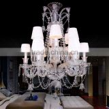 Baccarat Fine Cut Crystal Chandelier Lighting Clear Glass Pendant Hanging Light Fixture CZ3502/12