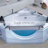 Portable whirlpool bathtub free standing bathtub, triangular massage bathtub