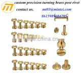 Factory custom metal double cap rivet