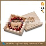 Solid Pine Wooden Gift Box, Wooden Jewelry Box, Wood Box Packaging                                                                         Quality Choice