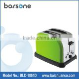 2014 Domestic Use Stainless Steel Housing 2 Slice Toaster Camping Toaster Conveyor Toaster
