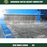 CE Approved wire belt conveyor small sand blasting machinefor the fragile thin-walled aluminum