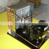 Danfoss compressor condensing unit R22 R134a R404a R507a for refrigeration display cabinet