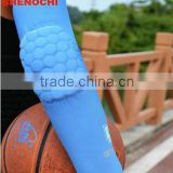 custom basketball padded comression uv protective arm sleeve OEM breathable quick dry sportswear custom sports arm sleeves
