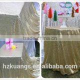Wholesale luxury wedding party sequin table cloth                                                                                                         Supplier's Choice
