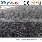 Popular size black&Grey color artificial moss carpet