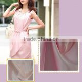 Wholesales 2014 new design silk satin polyester fabric for women for Dress,underwear,nightgown,garment, lining etc