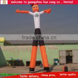 Double legs inflatable air dancer / inflatable sky dancer / inflatable dancing man for advertising
