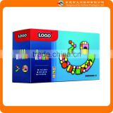 Smiling face packaging toy box