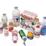 plastic bottle filling sealing packing machine for dairy