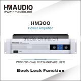 2 channels professional audio high power amplifiers for digital audio sound system HM300