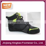 2015 latest cow suede leather breathable custom color boxing /wrestling training boots shoes