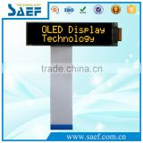 "OLED 2.26"" I2C/SPI Interface 16x2 character OLED Screen Yellow Color OLED Display"