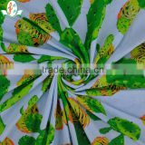 Custom Newest Design!!!High Elastane Quality 4 Way Stretch Soft Print Lingerie Fabric Elastane Digital Print Fabric For Women
