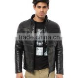 Hoodies Leather Jacket Bomber Model
