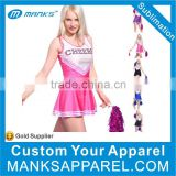 custom make sublimation cheer uniforms wear