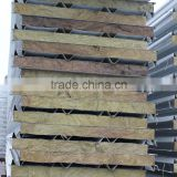 Insulated Mineral Wool roof sandwich panels
