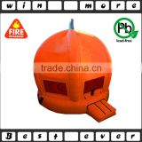 cute custom christmas pumpkin kids toys, used indoor inflatable jumper for children games