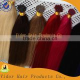 Any color I-tip hair human hair extensions any color you can choose human hair extension