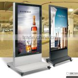 Double Side Aluminium Picture Frame Outdoor Advertisment Display LED Scrolling Free Standing Standing Light Box                                                                         Quality Choice                                                     Most