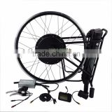 Easy Assemble Rear/Front Bicycle CE Certification Bicycle Electric Bike Convertion Kit With Lead Acid Battery